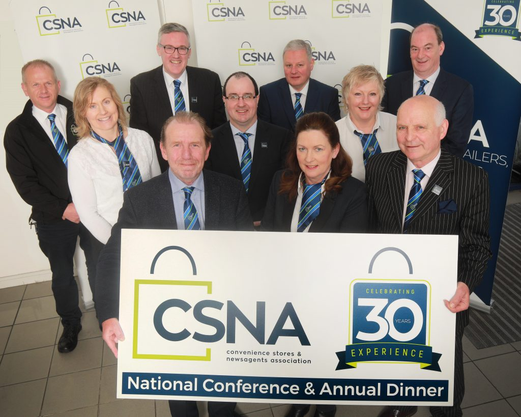 The National Executive of The Convenience Stores and Newsagents Association of Ireland unveil National Conference Plans to celebrate 30 years