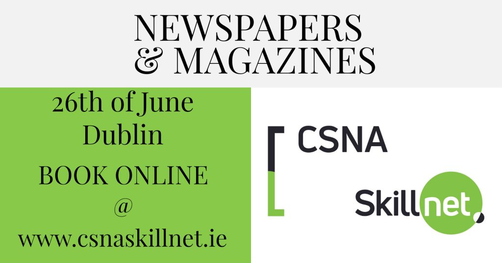 Newspapers & Magazines Training Courses