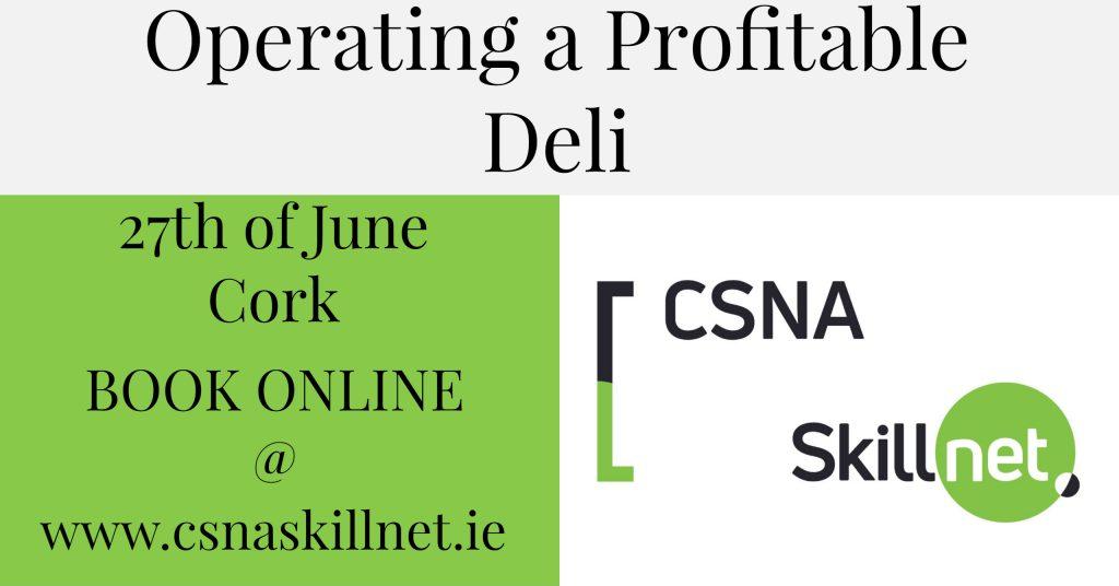 Operating a Profitable Deli Training Course