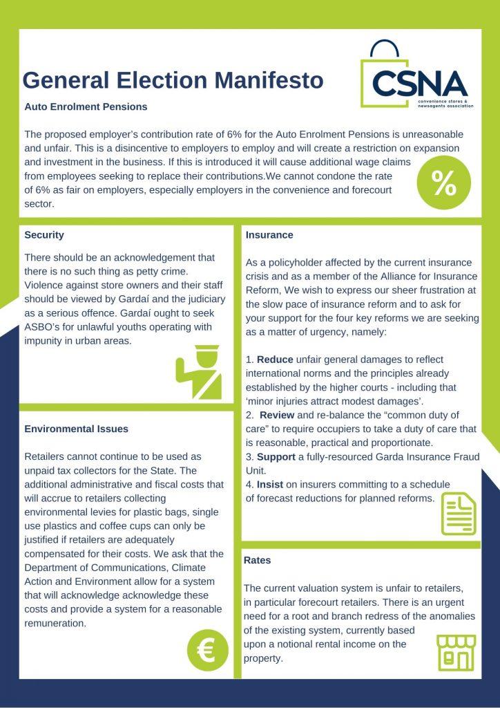 CSNA Manifesto Document