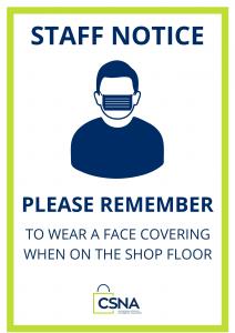A4 Shop Notice