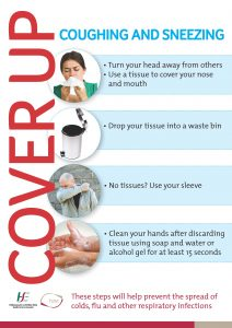 Cover Your Cough cleaned