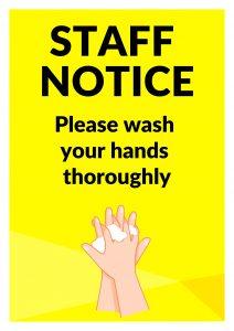 Staff Notice 1