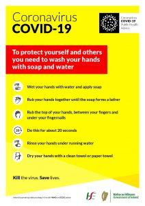 Washing Hands June 2020